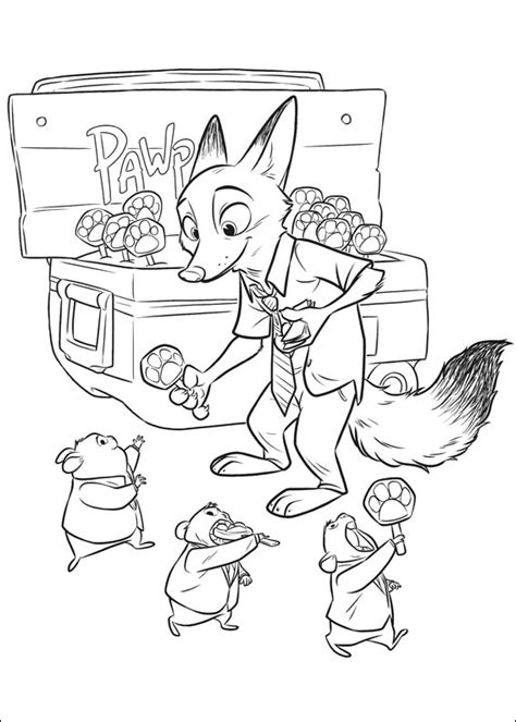 Coloring Zootopia by Zootopia Coloring Pages Best Coloring Pages For
