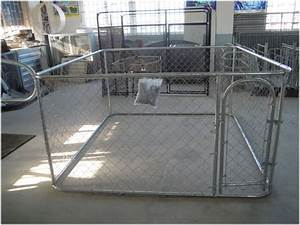 Pet enclosure dog kennel run animal fencing fence sheep for Dog run cage enclosure