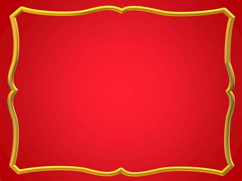frames  borders png red  gold frame