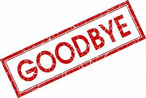 Goodbye PNG images free download