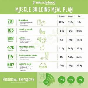 The Ultimate Muscle Building Meal Plan  Ud83d Udcaa