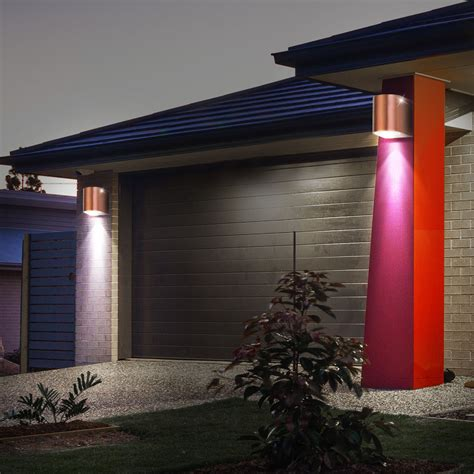 rgb led outdoor wall light remote control l dimmable