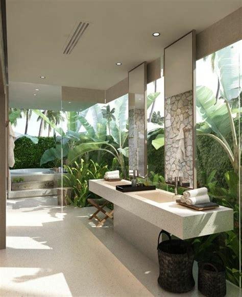 badgestaltung mit pflanzen badgestaltung ideen f 252 r jeden geschmack badezimmer badezimmerideen tropisches badezimmer