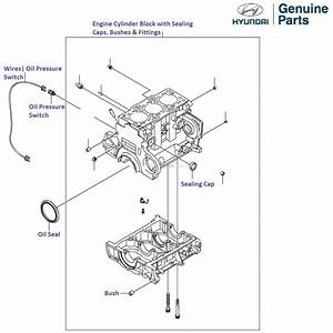 Hyundai Accent Viva 1 5 Crdi  Engine Cylinder Block
