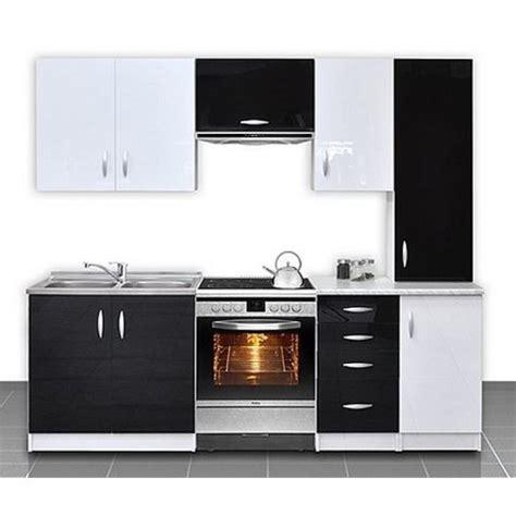 produit cuisine cuisine équipée de 2m20 oxane aubergine achat vente cuisine complete pas cher couleur et