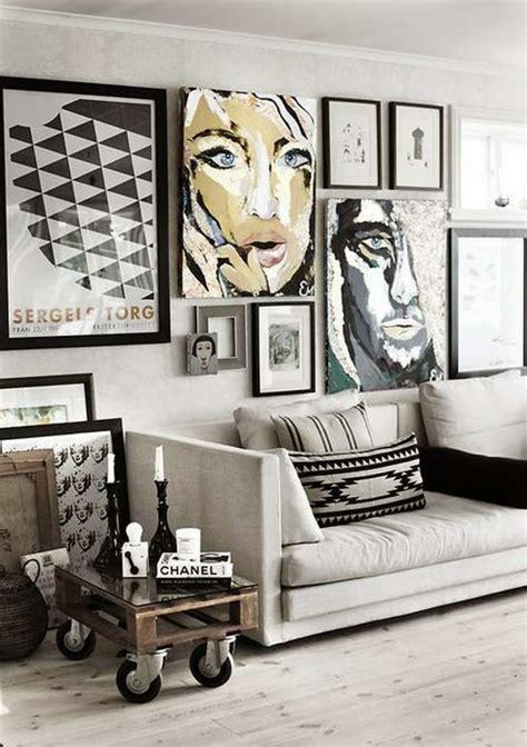 d 233 co mur salon 50 id 233 es r 233 tro vintage et artistiques