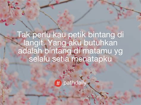 romantis pathdaily kata kata mutiara