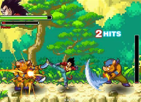 dragon ball fierce fighting  game funnygamesin