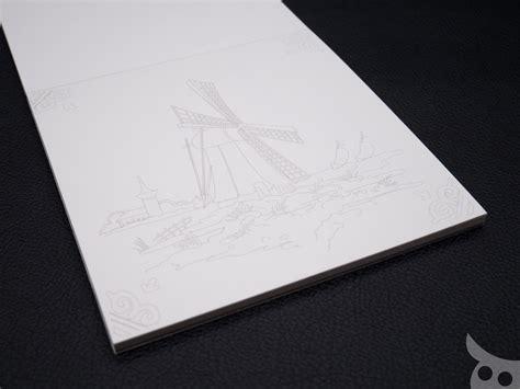 Pepin Colouring Book สมุดระบายสีกระดาษเทพที่สามารถลงสีน้ำ