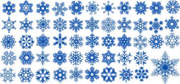 52 Snowflakes Vectors  Silhouette and Photoshop Brushes for Christmas      Christmas Snowflake Silhouette