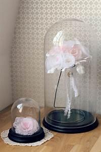 Rose Eternelle Sous Cloche : rose eternelle sous cloche lumineuse ~ Farleysfitness.com Idées de Décoration