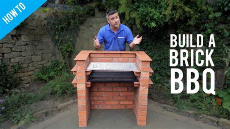 build  brick barbecue youtube