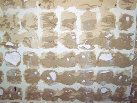repairing walls after a tile removal drywall plaster