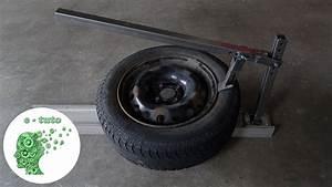 Machine A Pneu Moto : fabriquer un d colle pneu d monte pneu youtube ~ Melissatoandfro.com Idées de Décoration