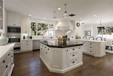 beautiful kitchens with islands beautiful kitchens eat your out part one montecito estate