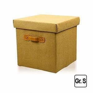 Aufbewahrungsbox Aus Stoff : faltbox deckel beige aufbewahrung box m belbox kinderbox ~ Lateststills.com Haus und Dekorationen
