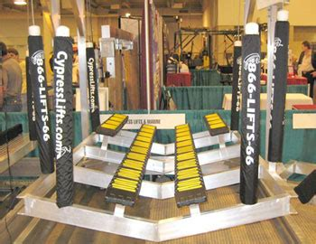 Boat Accessories Houston by Cypress Lifts At The Houston Boat Show