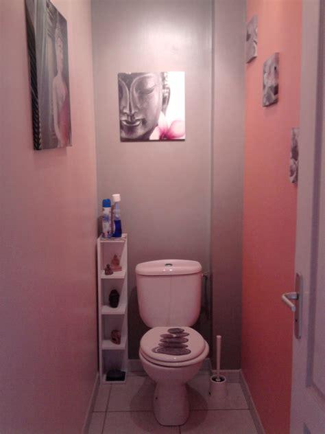 Deco Toilette Gris Latest Idee Papier Peint Toilette Avec