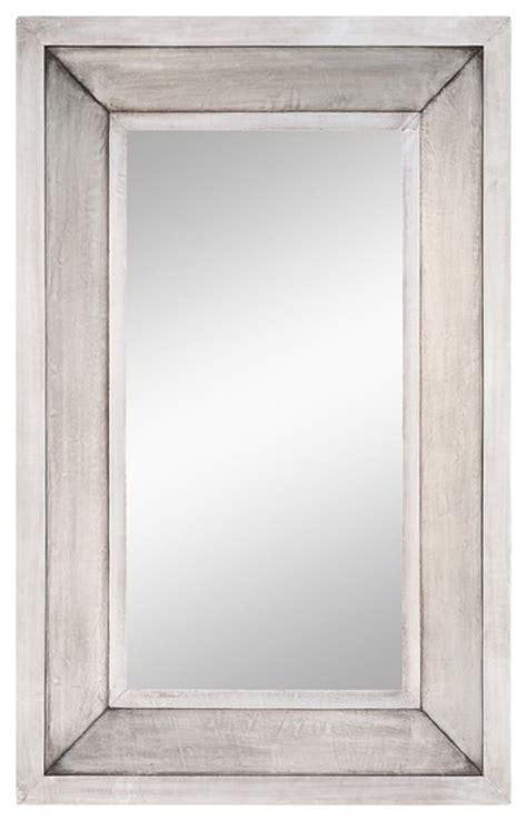 Silver Bathroom Mirror Rectangular by Garner Silver Square Mirror Transitional Bathroom