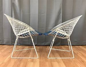 Bertoia Diamond Chair : pair of vintage harry bertoia diamond chairs for knoll sold past perfect ~ A.2002-acura-tl-radio.info Haus und Dekorationen