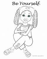 Coloring Doll American Pages Printable Print Getcolorings sketch template
