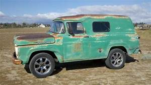 Sell Used 1960 Ford Panel Truck Inline 6 Cylinder Three
