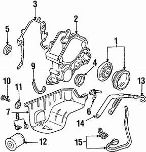 Lincoln Continental Engine Oil Pan Gasket  3 8 Liter  4 2