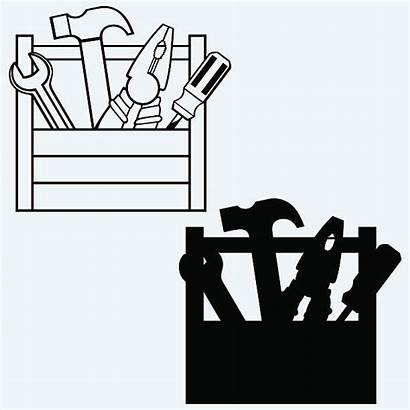 Toolbox Vector Clip Tools Illustrations Illustration Similar