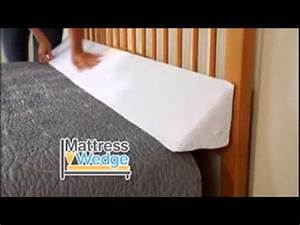 mattress wedge sleep solution as seen on tv chat youtube With bed pillow wedge as seen on tv