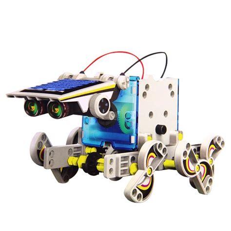 photovoltaik zum selber bauen kinder solar roboter spielzeug