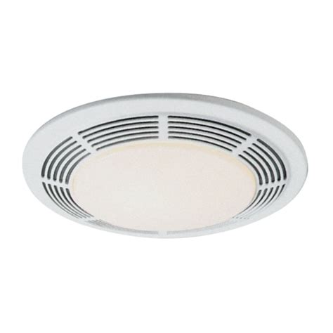 nutone bathroom fan light 100 cfm exhaust fan with light un 8663rp destination