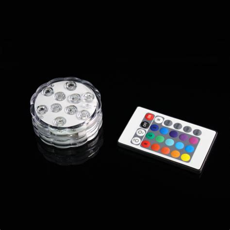 remote controlled led submersible lights gf brand