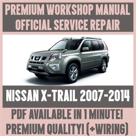 workshop manual service repair guide  nissan  trail