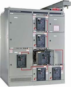 An Example Of Low Voltage Power Circuit Breaker Switchgear