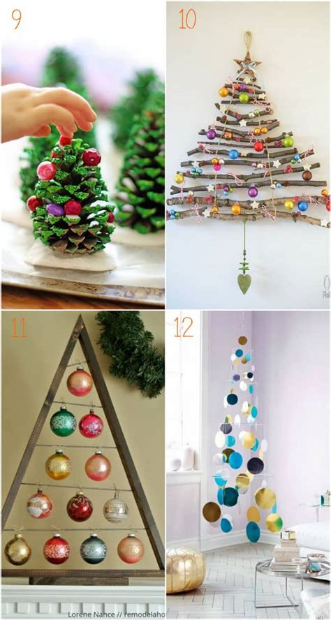 diy christmas table decorations easy centerpiece