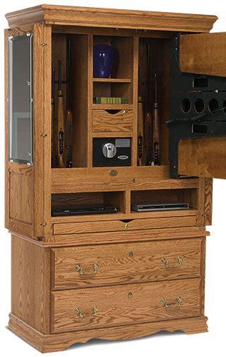 hidden gun cabinet furniture secret gun compartment in tv cabinet stashvault