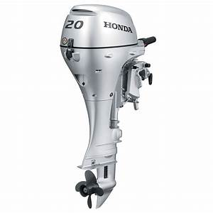 Honda Bf20 Portable Outboard Motor  Manual Start  20 Hp
