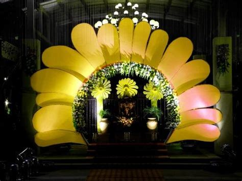 wedding gate sun flower wedding gate manufacturer