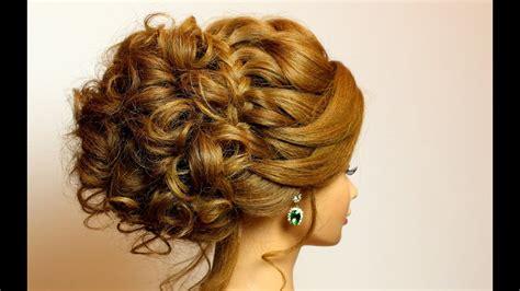 bridal hairstyle  long medium hair tutorial romantic