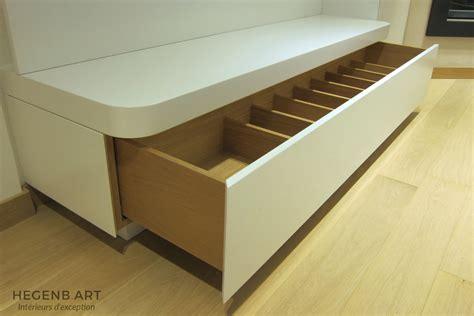 meuble chambre sur mesure meuble tele salon epure moderne blanc laque bois sur