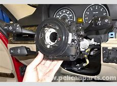 BMW E90 Steering Column Switch Replacement E91, E92, E93