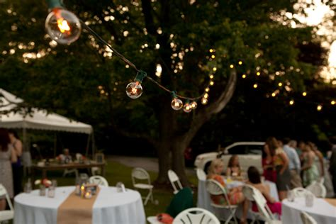 outdoor wedding lighting ideas united with