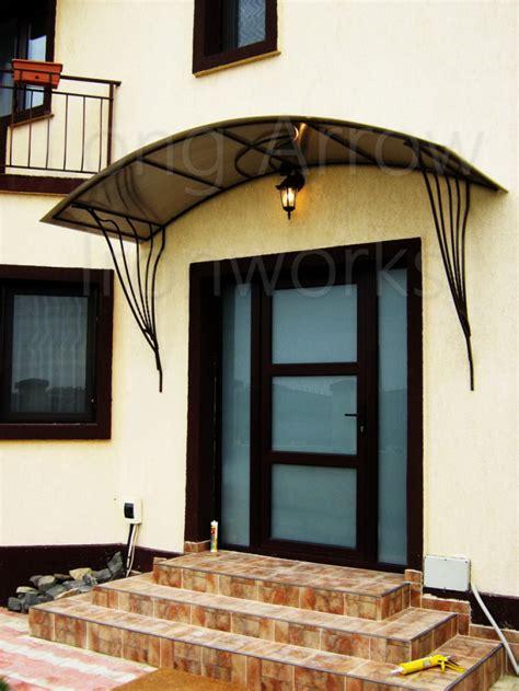magnus wrought iron door canopy