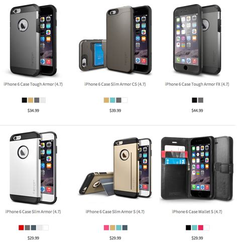 popular iphone brands best iphone 6 cases and covers from popular brands