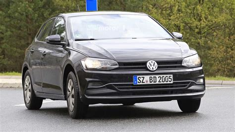 volkswagen polo 2018 vw polo new spy images motor1 com photos