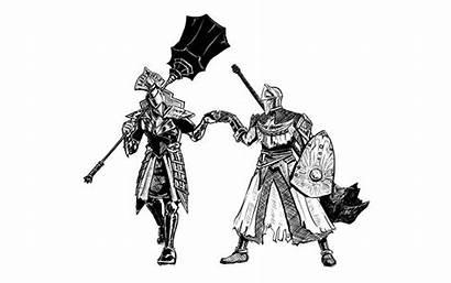 Souls Demon Dark Artorias Garl Vinland Menaslg