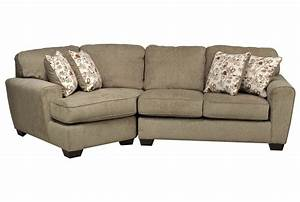 Patola Park 2 Piece Sectional W/Laf Cuddler Chaise
