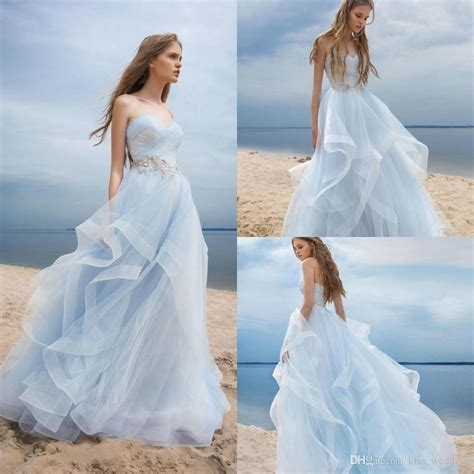 unique light blue wedding dresses aximediacom