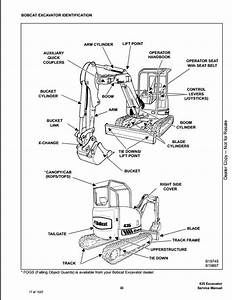 Bobcat 435 Mini Excavator Service Repair Workshop Manual