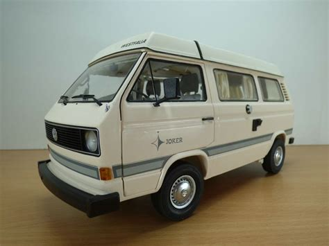 volkswagen transporter t3 cing car westfalia beige 1 18 vw joker combi ebay